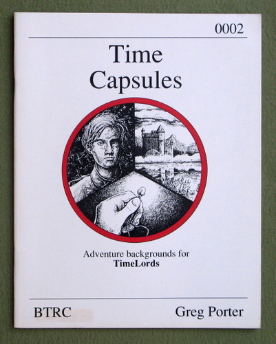 Image for Time Capsules (TimeLords role playing game)