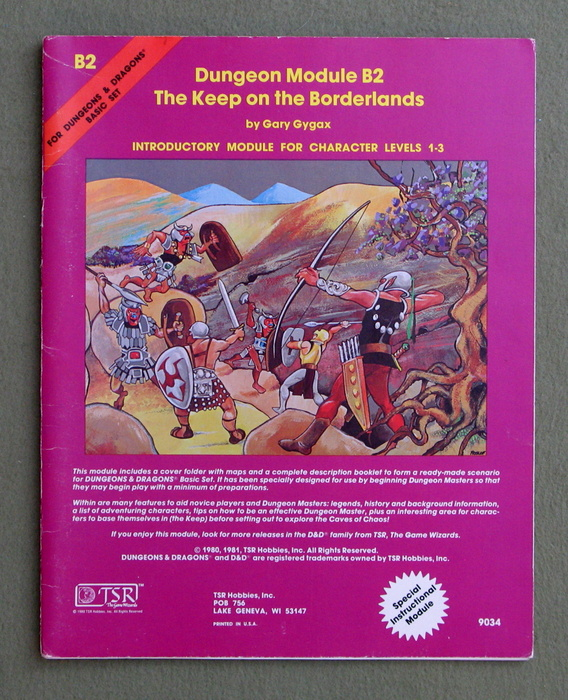 Image for The Keep on the Borderlands (Dungeons & Dragons Module B2)