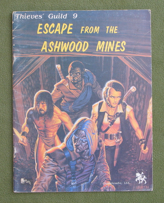 Image for Thieves' Guild 9: Escape From the Ashwood Mines - PLAY COPY
