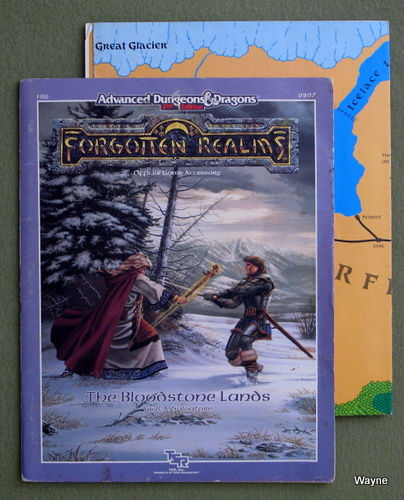 Image for Bloodstone Lands (Advanced Dungeons & Dragons: Forgotten Realms Module FR9) - PLAY COPY