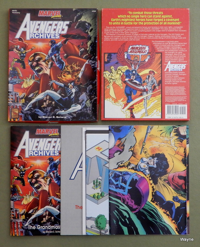 Image for Avengers Archives (Marvel Super Heroes Accessory MHR3)