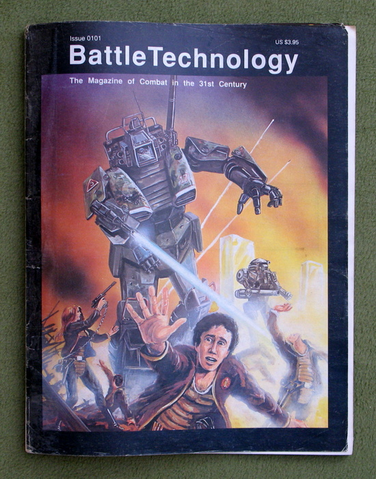 Image for BattleTechnology Magazine, Issue 0101 (Battletech) - READING COPY