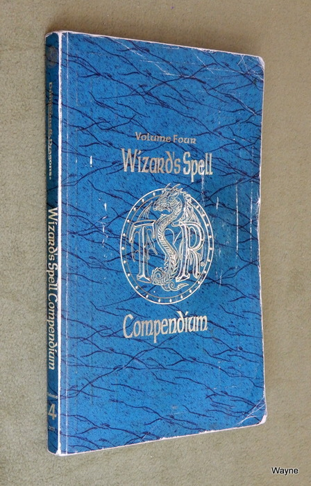 Image for Wizard's Spell Compendium, Vol. 4 (Advanced Dungeons & Dragons) - PLAY COPY