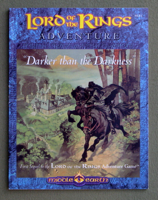 Image for Darker than the Darkness (Lord of the Rings Adventure Game)