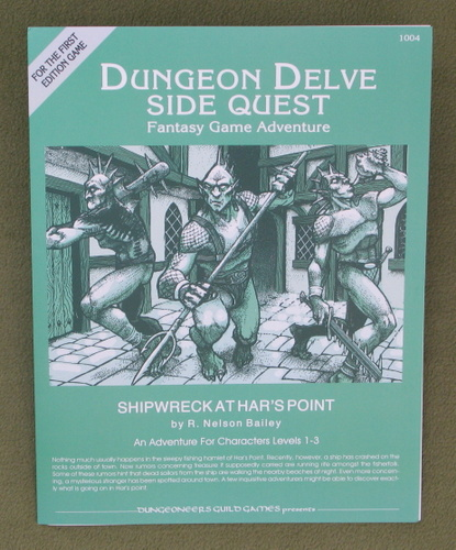 Image for Shipwreck at Athar's Point (Dungeon Delve Side Quest Fantasy Game Adventure)