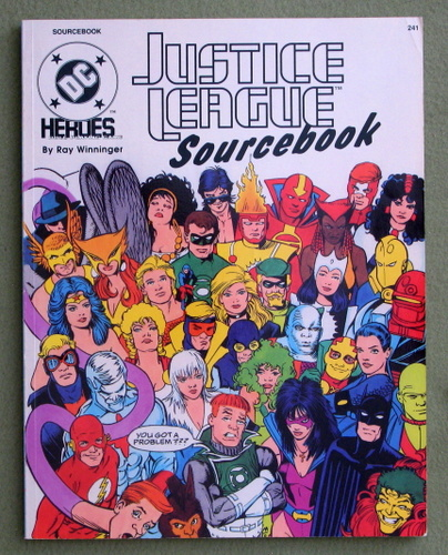 Image for Justice League Sourcebook (DC Heroes role-playing game)