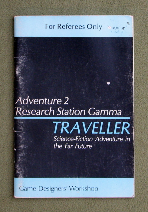Image for Traveller Adventure 2: Research Station Gamma - PLAY COPY