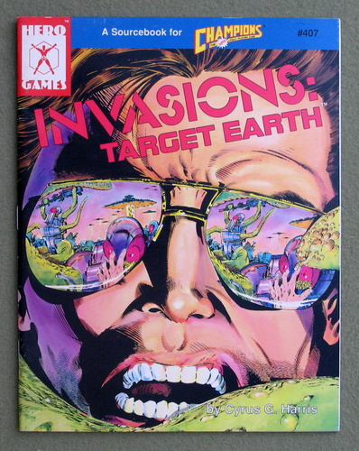 Image for Invasions: Target Earth (Champions Role Playing Game)