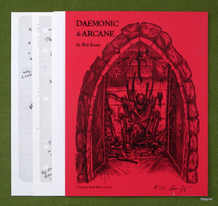 Image for Daemonic & Arcane - SIGNED, NUMBERED