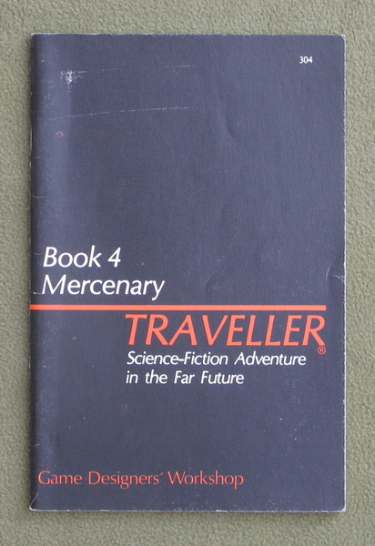Image for Traveller Book 4: Mercenary