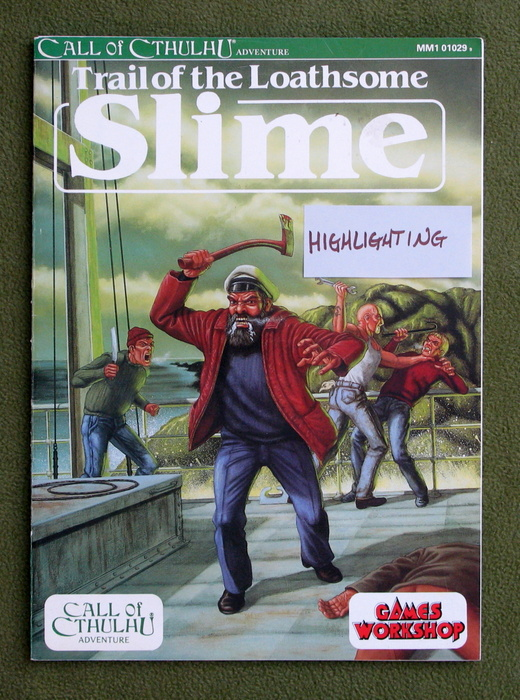 Image for Trail of the Loathsome Slime (Call of Cthulhu) - HIGHLIGHTING