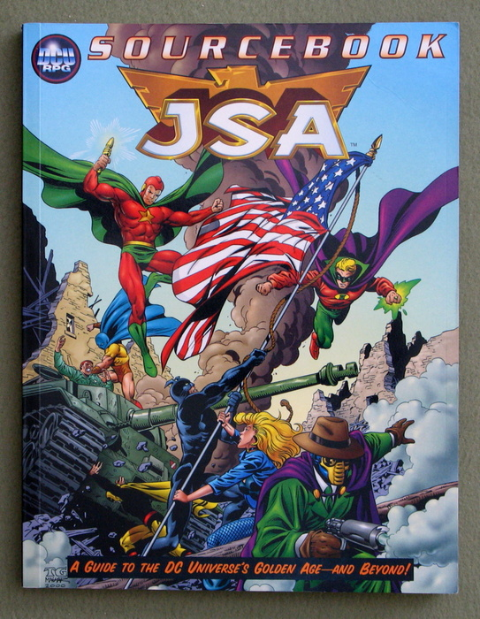 Image for JSA Sourcebook (DC Universe RPG)