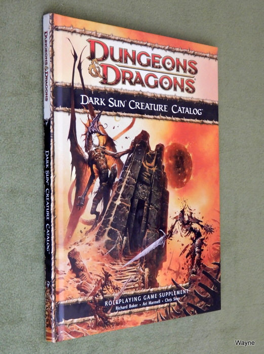 Image for Dark Sun Creature Catalog (Dungeons & Dragons, 4th Edition)