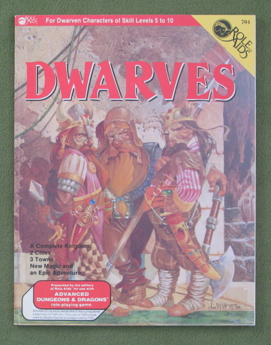 Image for Dwarves (Role Aids / Advanced Dungeons & Dragons)