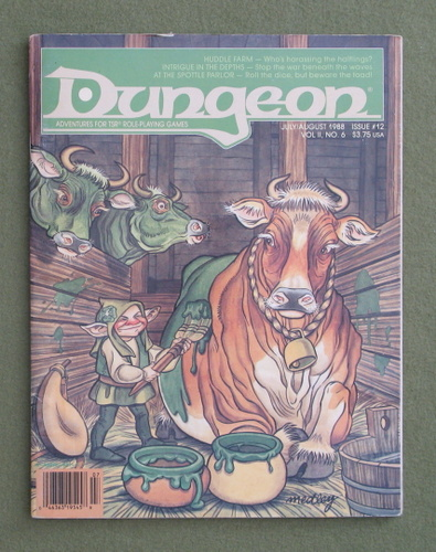 Image for Dungeon Magazine, Issue 12
