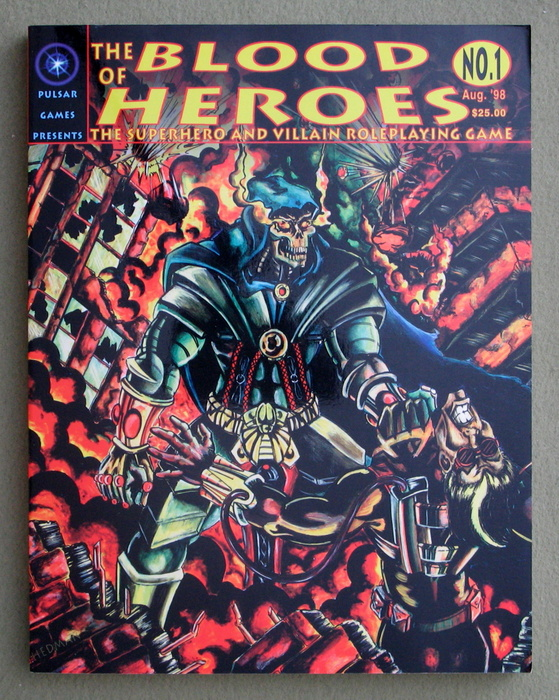Image for Blood of Heroes: The Superhero and Villain Role Playing Game