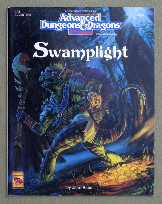 Image for Swamplight (AD&D Module GA2) - PLAY COPY