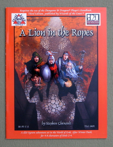 Image for A Lion in the Ropes (Dungeons & Dragons: D20 System)