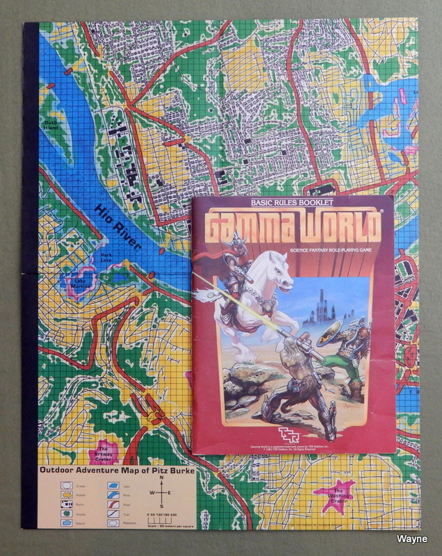 Image for Gamma World: Basic Rules Booklet (2nd edition)