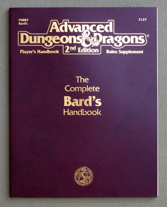 Image for The Complete Bard's Handbook (AD&D 2nd Ed Rules Supplement)