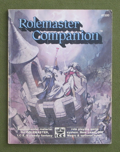 Image for Rolemaster Companion - PLAY COPY