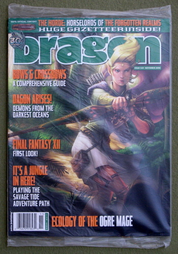 Image for Dragon Magazine, Issue 349