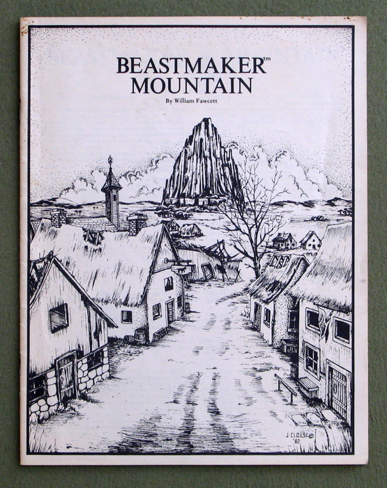 Image for Beastmaker Mountain - MISSING FOLIO COVER