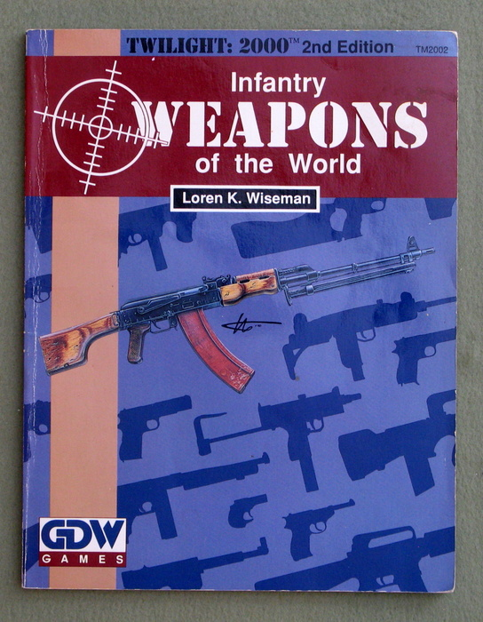 Image for Infantry Weapons of the World (Twilight: 2000, 2nd edition)