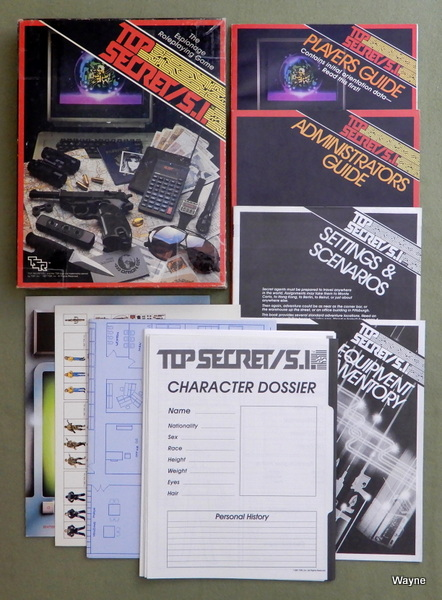 Image for Top Secret/S.I. (Espionage Roleplaying Game)