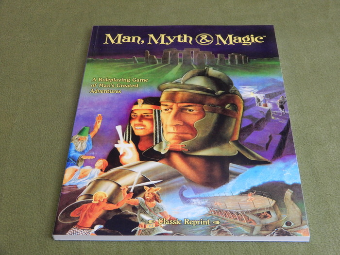 Image for Man, Myth, & Magic RPG (Classic Reprint)