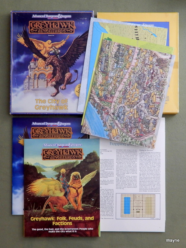 Image for The City of Greyhawk (Advanced Dungeons and Dragons: Greyhawk Adventures)