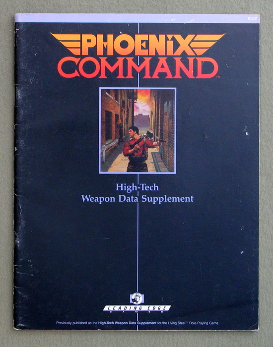 Image for Phoenix Command High-Tech Weapon Data Supplement