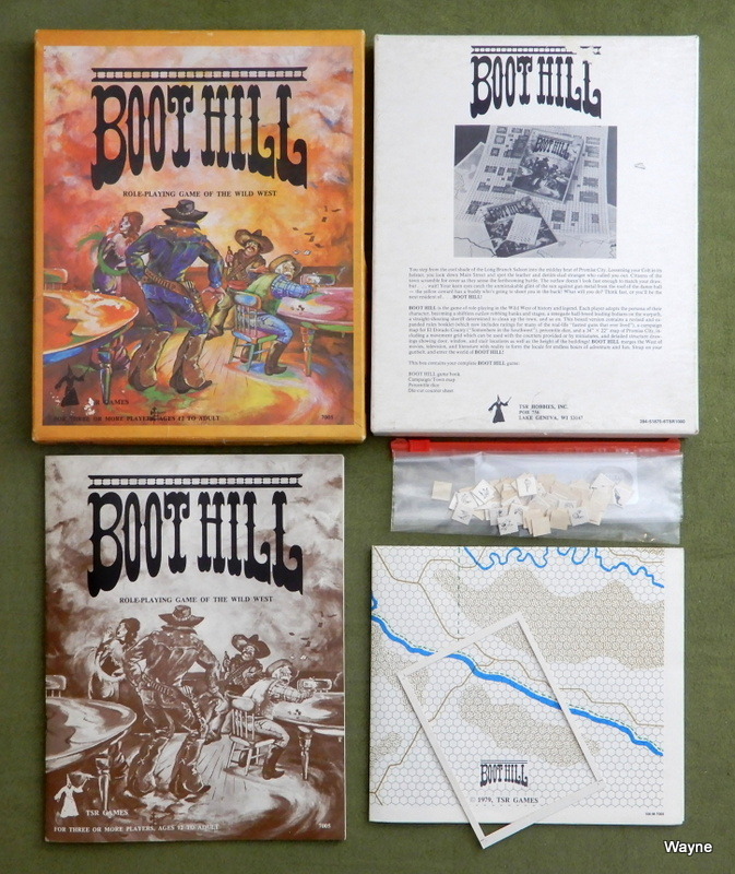 Image for Boot Hill Wild West Role-Playing Game (Second Edition, early printing)