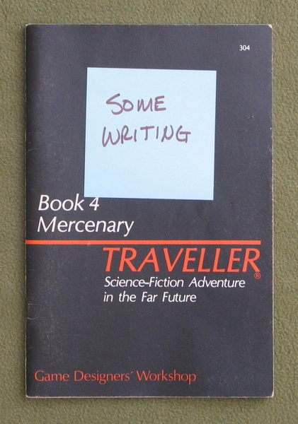 Image for Traveller Book 4: Mercenary - WRITING