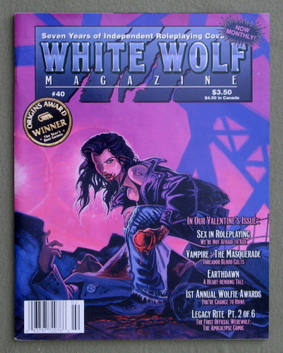 Image for White Wolf Magazine, Issue 40