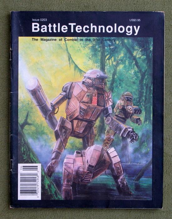 Image for BattleTechnology Magazine, Issue 0203 (Battletech)