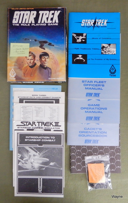 Image for Star Trek RPG (Deluxe Limited Edition) - PLAY SET