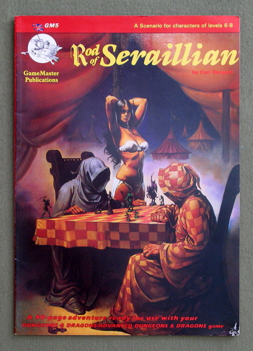 Image for Rod of Seraillian (Gamemaster Publications: D&D/AD&D Module GM5)