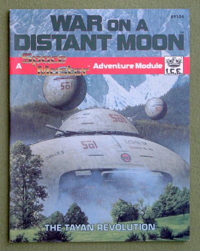 Image for War on a Distant Moon (Space Master)