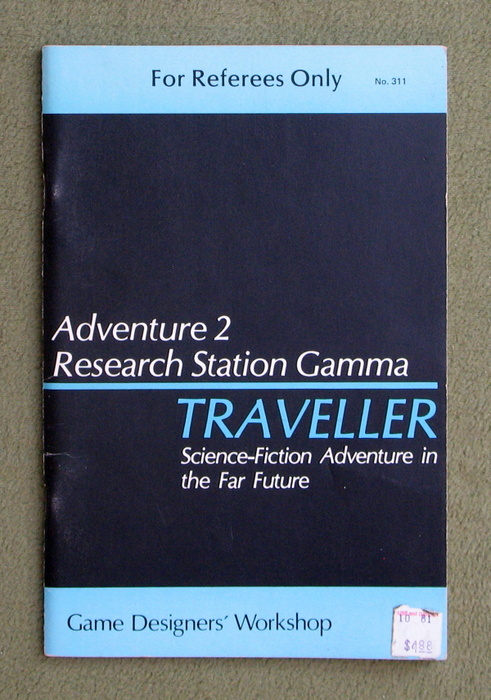 Image for Traveller Adventure 2: Research Station Gamma