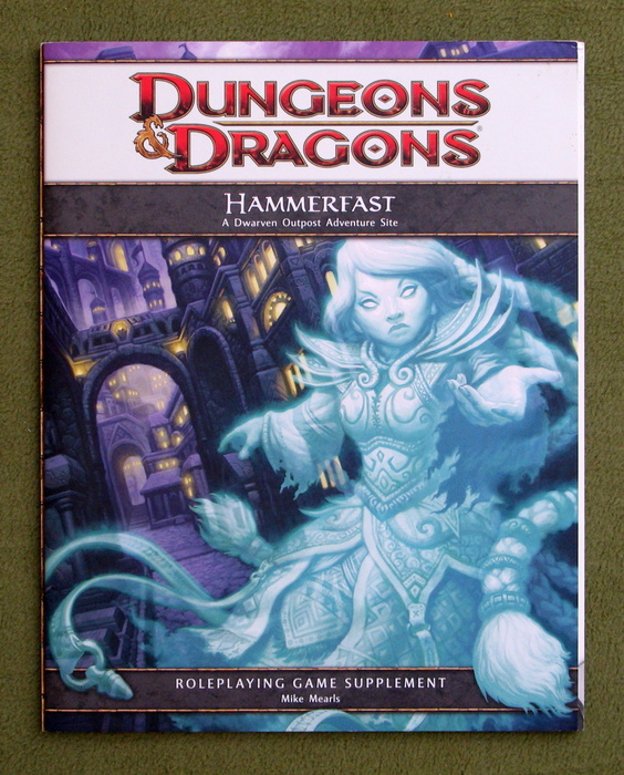 Image for Hammerfast: A Dwarven Outpost Adventure Site (Dungeons & Dragons, 4th Edition)