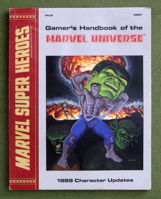 Image for Gamer's Handbook of the Marvel Universe: 1989 Character Updates (Marvel Super Heroes Accessory MU5)