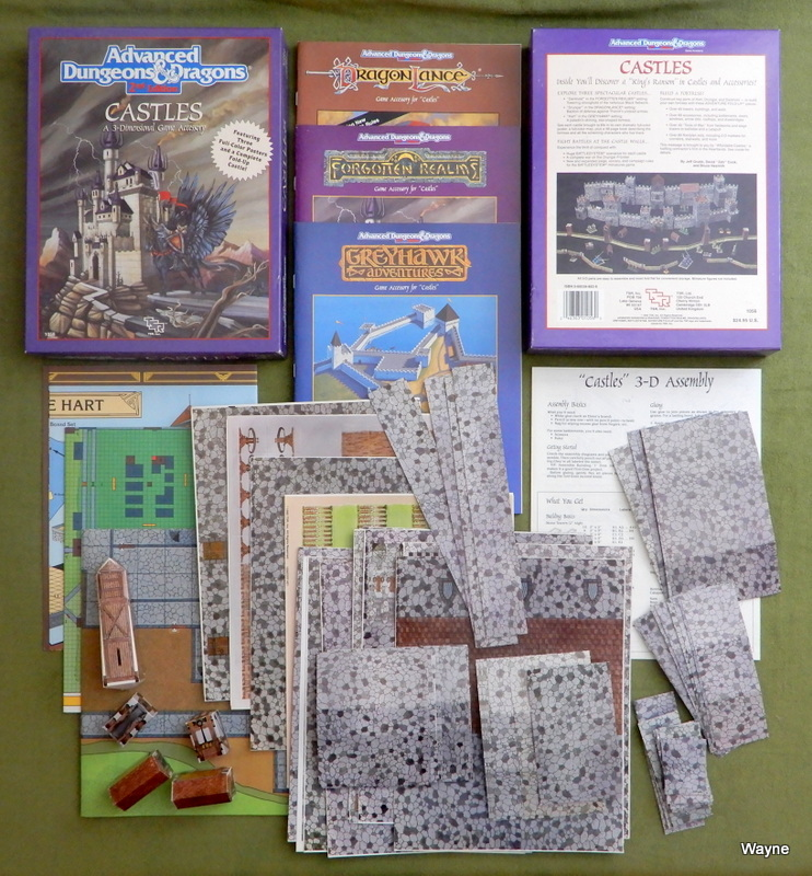 Image for Castles (Advanced Dungeons and Dragons) - MISSING THE 3 POSTERS