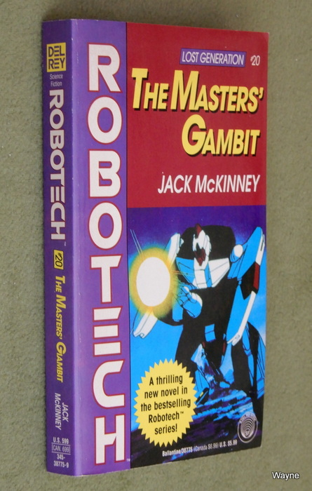 Image for The Masters' Gambit: Robotech (Lost Generation, No. 20)