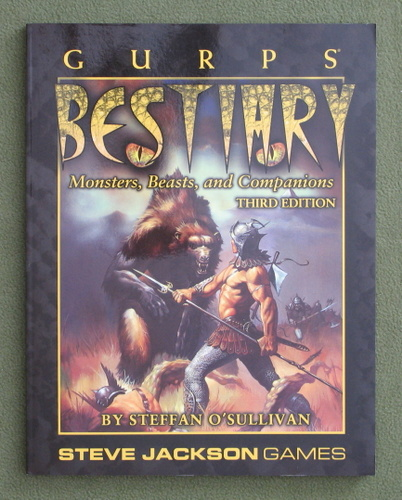 Image for GURPS Bestiary (3rd Edition)