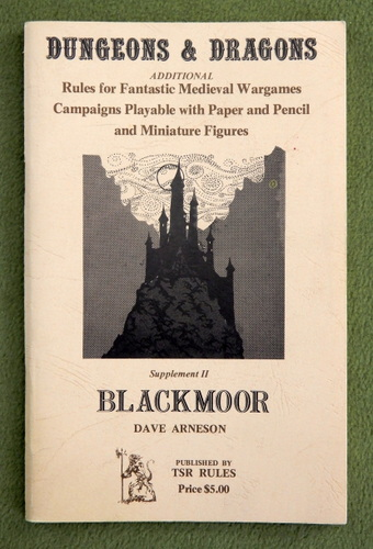 Image for Dungeons & Dragons Supplement II: Blackmoor