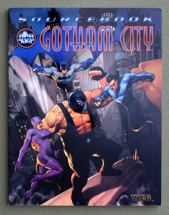Image for Gotham City Sourcebook (DC Universe RPG)