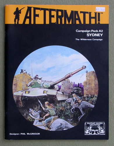 Image for Sydney: The Wilderness Campaign (Aftermath RPG Campaign Pack A2)