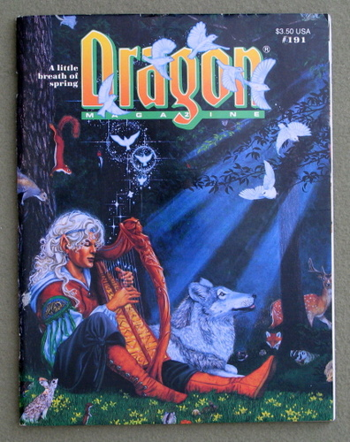 Image for Dragon Magazine, Issue 191