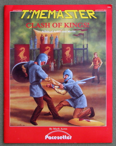 Image for Clash of Kings! A Tale of Arthur and Merlin (A Timemaster Adventure)